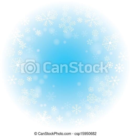 vektor, winter, hintergrund - csp15950682