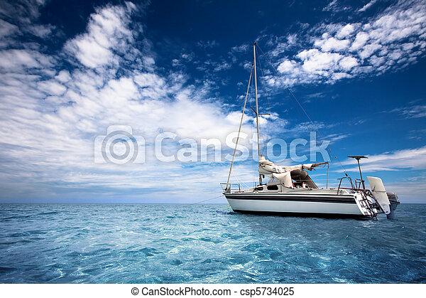 velejando, paraisos  - csp5734025