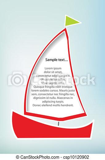 Barco de vela - csp10120902