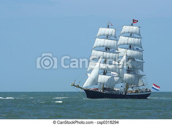 Barco de vela - csp0318294
