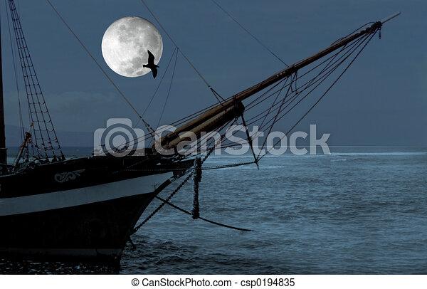 Barco de vela - csp0194835
