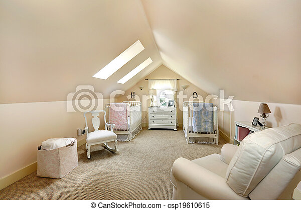 Velux nursery room - csp19610615