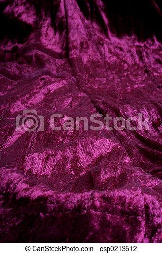 Velvet Magenta Crushed Background In Fuchsia Stock