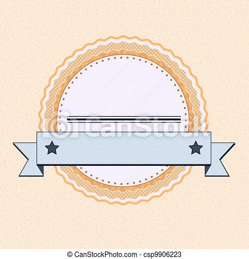 vendange, écusson - csp9906223