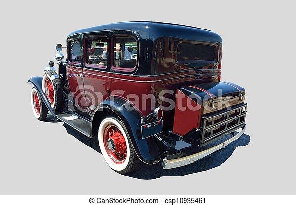 vendange, 1932, automobile - csp10935461