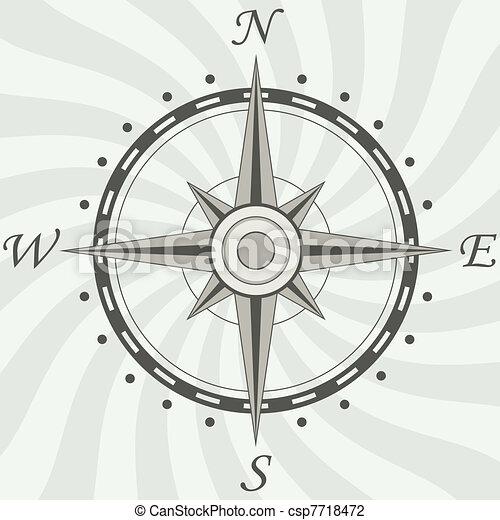 vendange, compas - csp7718472