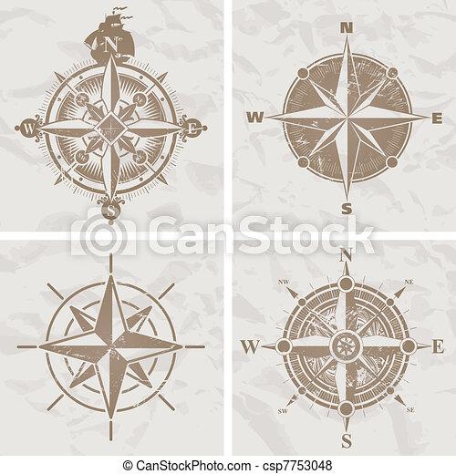 vendange, compas s'est élevé - csp7753048