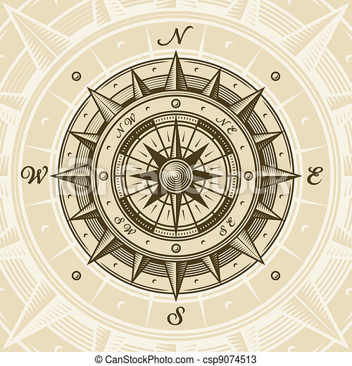 vendange, compas - csp9074513