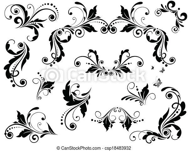 vendange, conception - csp18483932