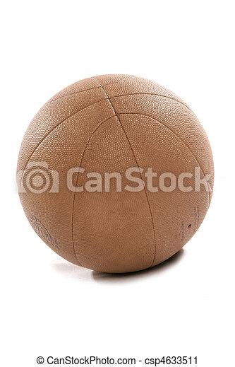 vendange, coupure, basket-ball, regard - csp4633511