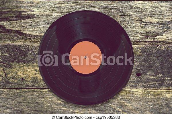 vendange, disque vinyle - csp19505388