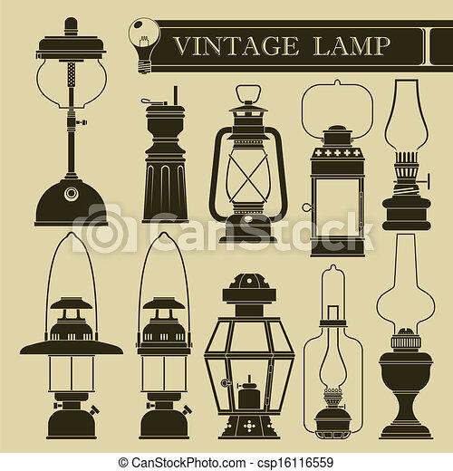 vendange, lampe - csp16116559