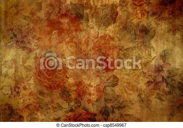 vendange, papier peint - csp8549967