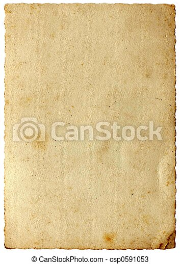 vendange, papier - csp0591053