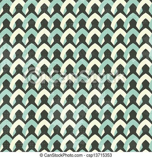 vendange, seamless, tissu, modèle - csp13715353