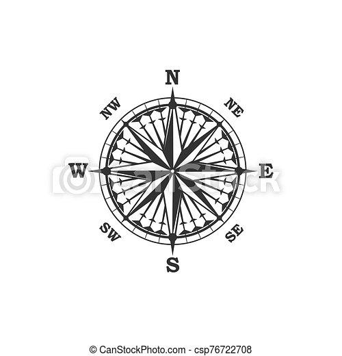 vendange, symbole, compas, signe - csp76722708