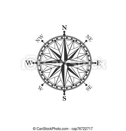 vendange, symbole, compas, signe - csp76722717