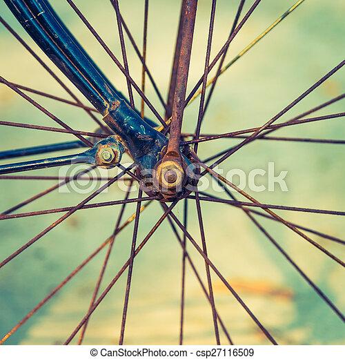 vendange, vélo - csp27116509