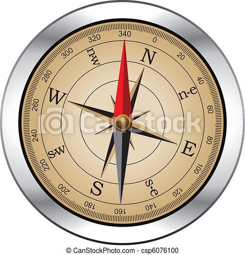 vendange, vecteur, compas - csp6076100