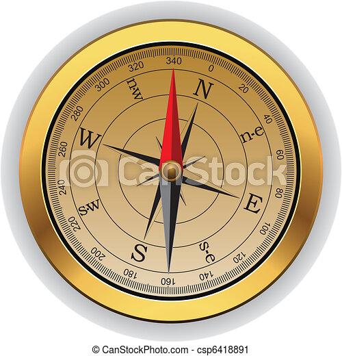 vendange, vecteur, compas - csp6418891