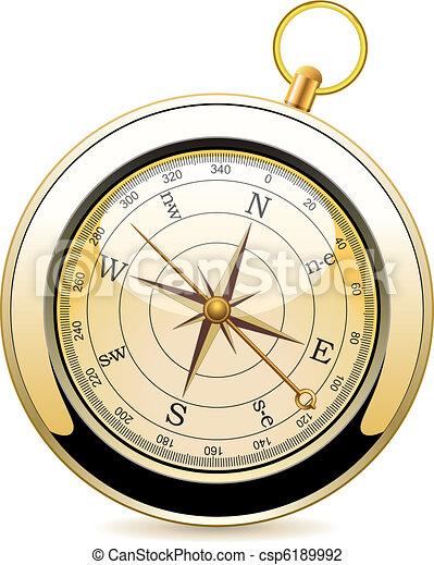 vendange, vecteur, compas - csp6189992