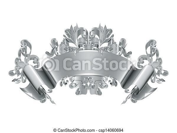 vendange, vecteur, emblème - csp14060694