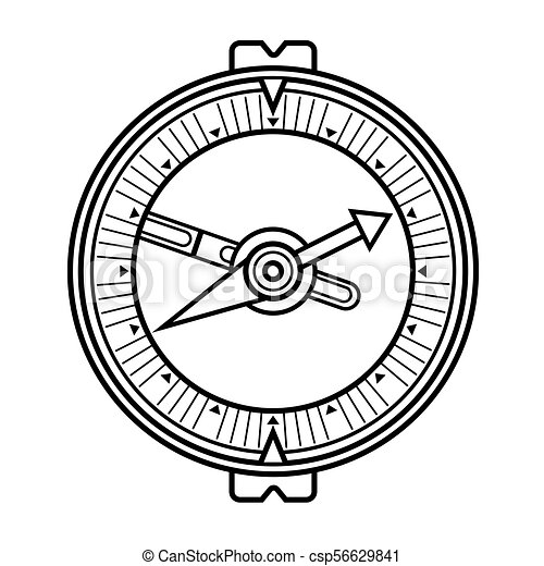 vendange, vieux, compas - csp56629841