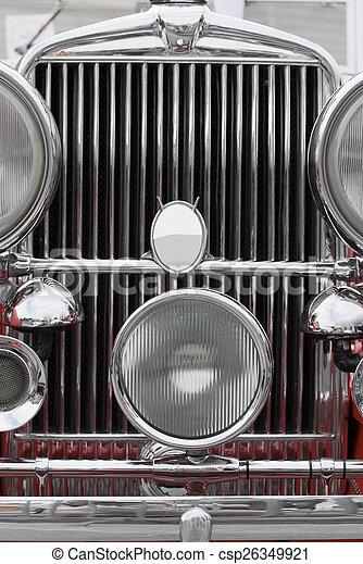 vendange, voiture luxe - csp26349921