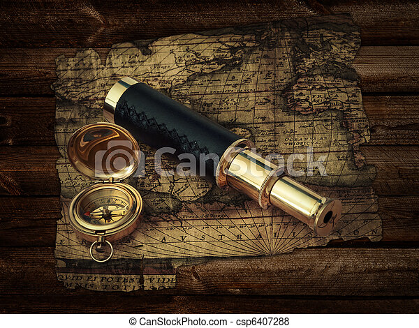 vendange, voyage, objets - csp6407288