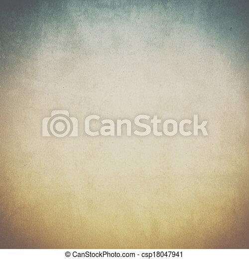 vendemmia, carta, vecchio, fondo, struttura - csp18047941