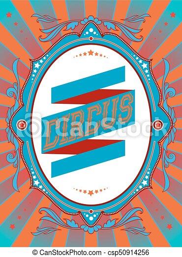 vendemmia, circo, manifesto - csp50914256