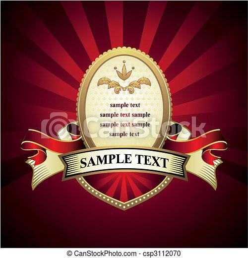 vendemmia, emblema - csp3112070