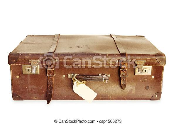 vendemmia, valigia - csp4506273