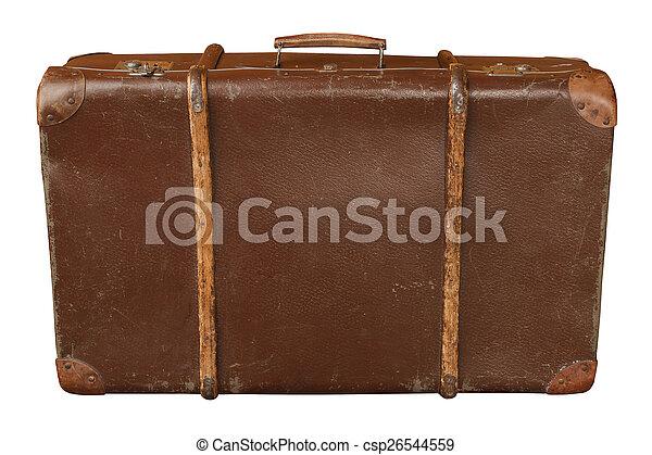 vendemmia, valigia - csp26544559