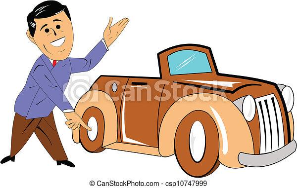 vendeur voiture classique client auto marque pr sentation nouveau vendeur. Black Bedroom Furniture Sets. Home Design Ideas