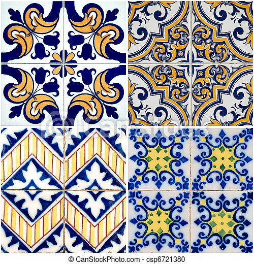 Tejas de cerámica - csp6721380