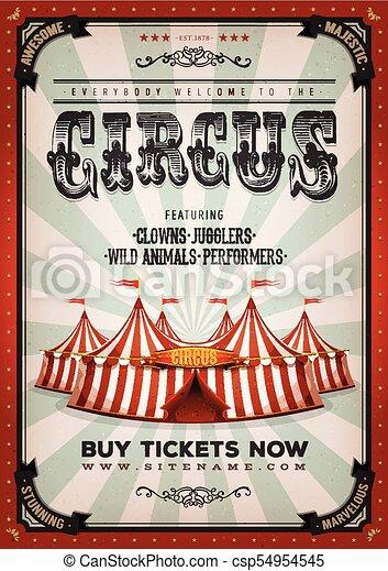 Antecedentes de circo antiguos - csp54954545