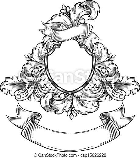 Un emblema antiguo - csp15026222