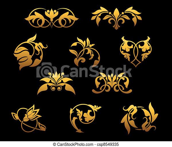 Flores de oro - csp8549335