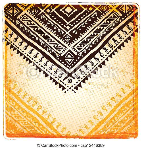 Antecedentes étnicos étnicos antiguos - csp12446389