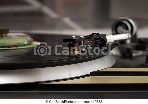 Jugador de música - csp1440683