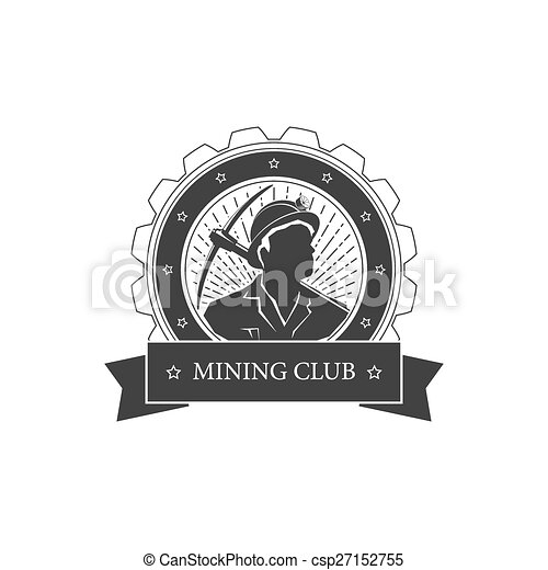 Un antiguo emblema de la industria minera - csp27152755