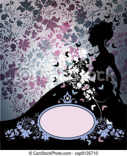 Una novia vintuosa - csp9135710