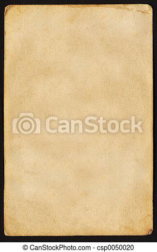 vendimia, papel - csp0050020
