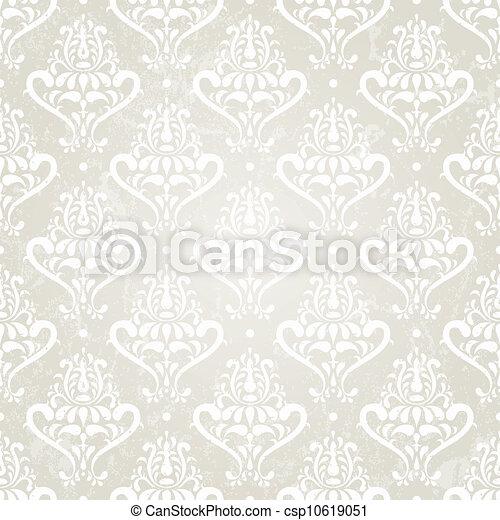 Papel pintado de plata - csp10619051