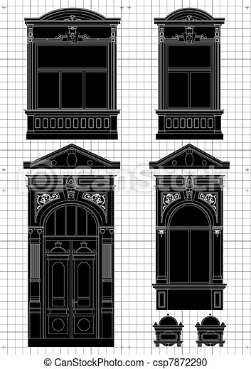 Plan arquitectónico - csp7872290