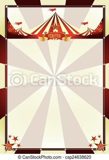 Rayos de sol de circo antiguos - csp24638620