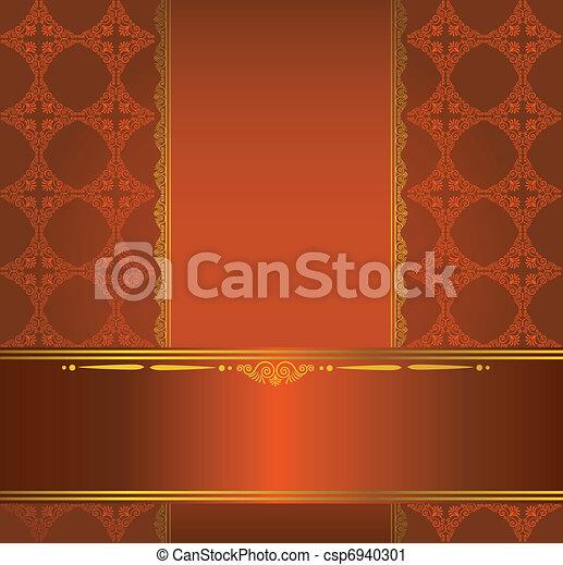 Un fondo de tapicería. - csp6940301