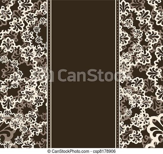 Un fondo de tapicería. - csp8178906