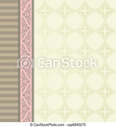Un fondo de tapicería. - csp6940275
